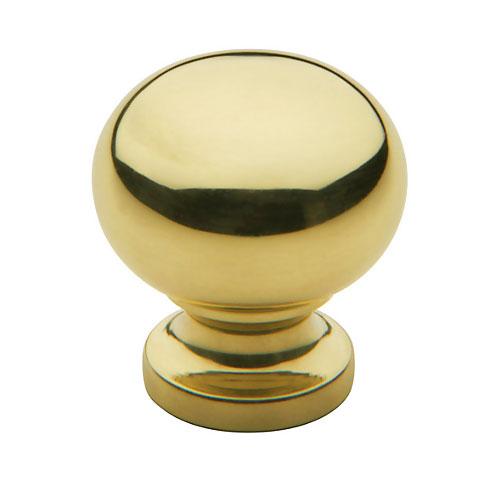 Baldwin   Cabinet Knob   Polished Brass