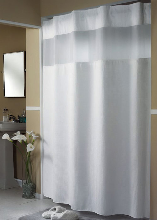 Hotel collection shower curtains