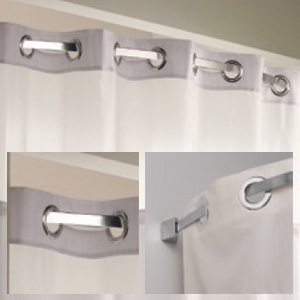 arc shower bar 5u0027 - Shower Rods