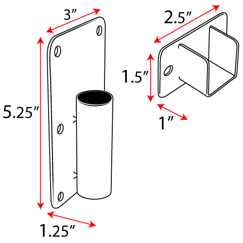 Wheelchair Accessible Shower Curtain Rod, Swing Out Shower Curtain Rod