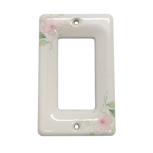 Lenape Single Rocker Switchplate White