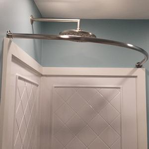 Neo Round Shower Rod
